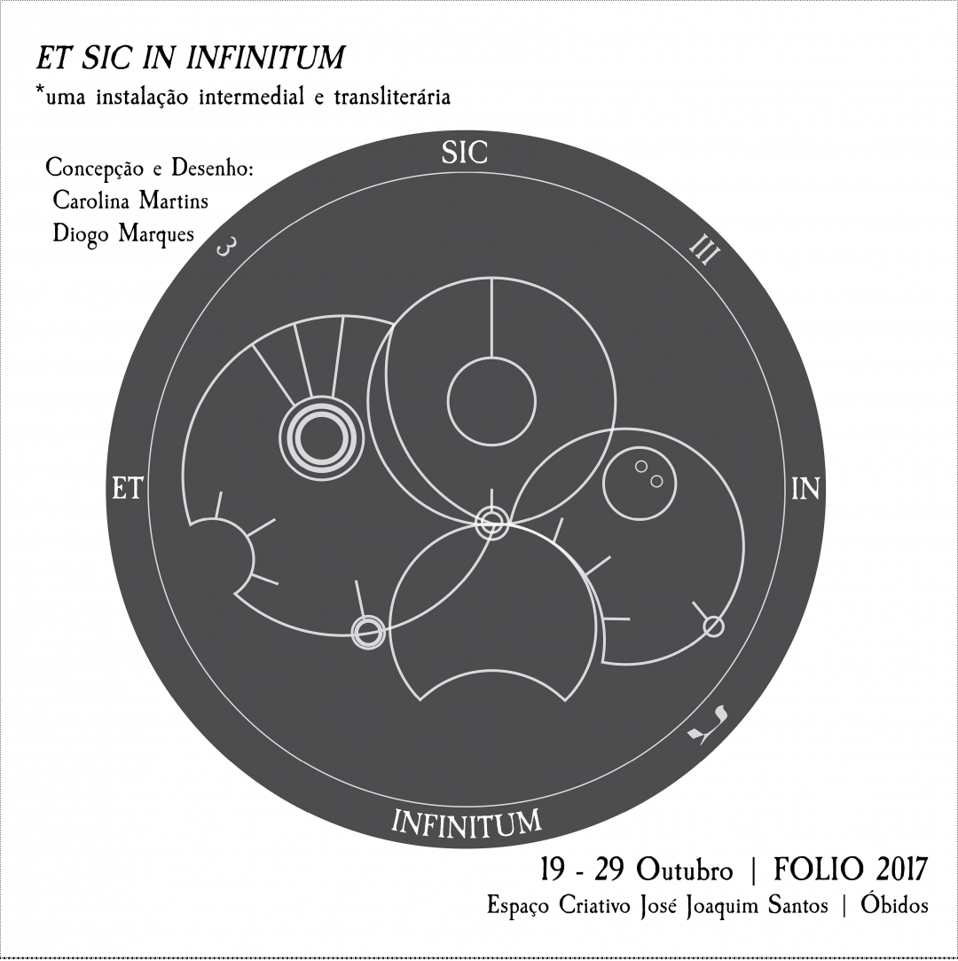 ET SIC IN INFINITUM: an intermedial and transliterary exhibition